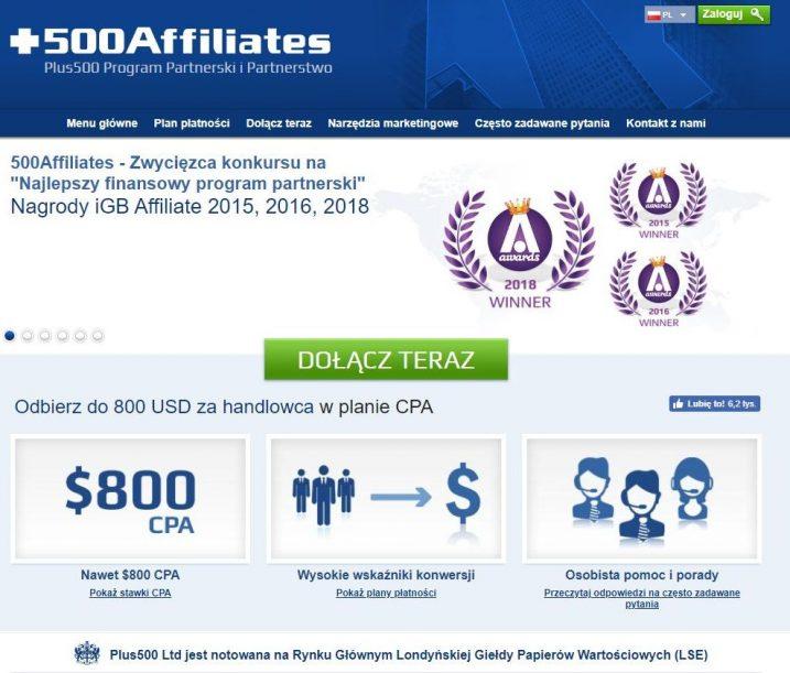 +500 Affiliates #1